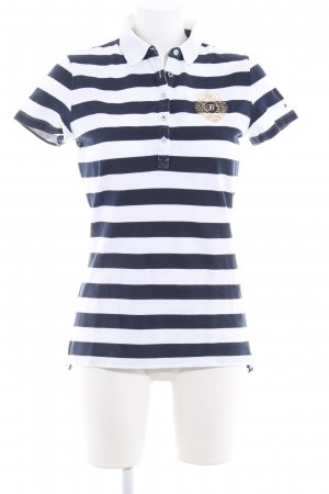 Tommy Hilfiger Polo bianco-blu scuro stile casual