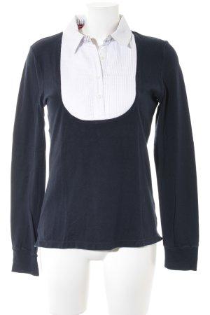 Tommy Hilfiger Polo-Shirt weiß-dunkelblau Casual-Look