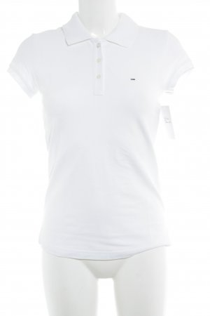 Tommy Hilfiger Polo shirt wit atletische stijl