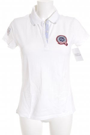 Tommy Hilfiger Polo-Shirt weiß sportlicher Stil