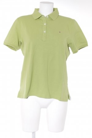 Tommy Hilfiger Polo-Shirt wiesengrün Casual-Look
