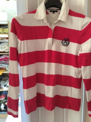 Tommy Hilfiger Polo shirt rood-wolwit