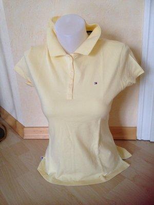 Tommy Hilfiger Polo T-Shirt Gr L Gelb