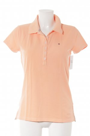 Tommy Hilfiger Polo Top neonorange Casual-Look