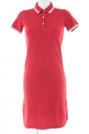 Tommy Hilfiger Polo Dress red casual look