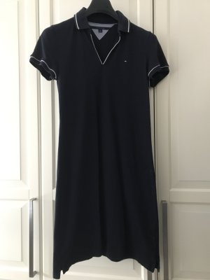 Tommy Hilfiger Polo Dress dark blue cotton