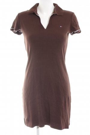 Tommy Hilfiger Polo Dress brown casual look