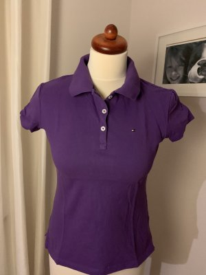 Tommy Hilfiger Polo shirt donkerpaars