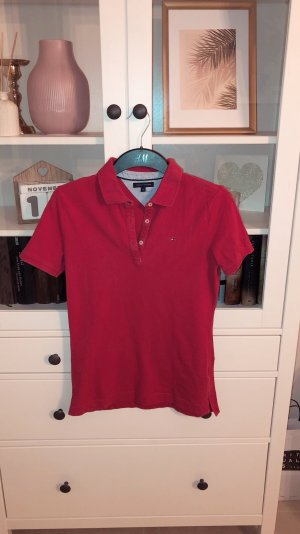 Tommy Hilfiger Camiseta tipo polo rosa