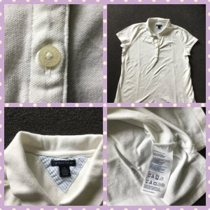 Tommy Hilfiger Polo Shirt white cotton