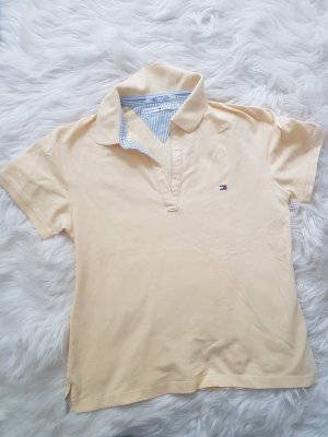 Tommy Hilfiger Polo Shirt pale yellow