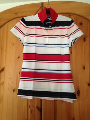 Tommy Hilfiger Poloshirt gestreift Gr. XL (40)