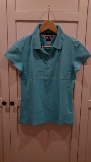Tommy Hilfiger Poloshirt, hellblau, Größe L