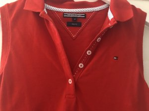 Tommy Hilfiger Top Polo rouge