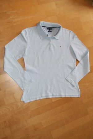 Tommy Hilfiger PoloShirt / Longsleeve Gr. XXL Slimfit bleue