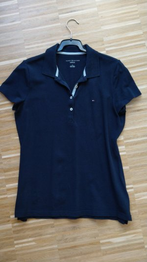 Tommy Hilfiger Poloshirt, M, classic fit, dunkelblau
