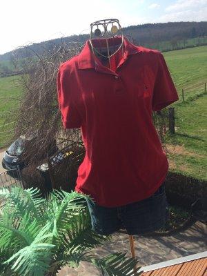 Tommy Hilfiger Camiseta tipo polo rojo