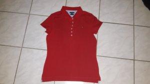 Tommy Hilfiger Poloshirt - rot - Gr. XL - NEU !