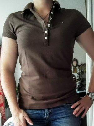 Tommy Hilfiger Poloshirt, Slim Fit, braun