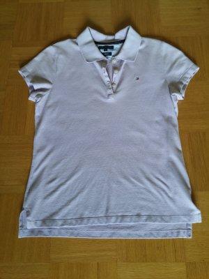 Tommy Hilfiger Poloshirt Slim Fit Gr. M flieder
