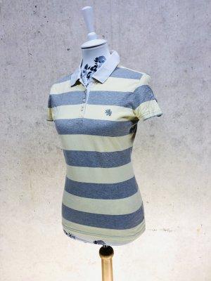 TOMMY HILFIGER Poloshirt t-Shirt bestickt GR. S (ehr XS) 34-36