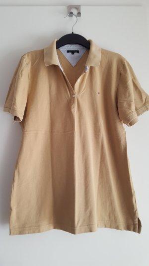 Tommy Hilfiger, Poloshirt, XL, beige, braun, cognac