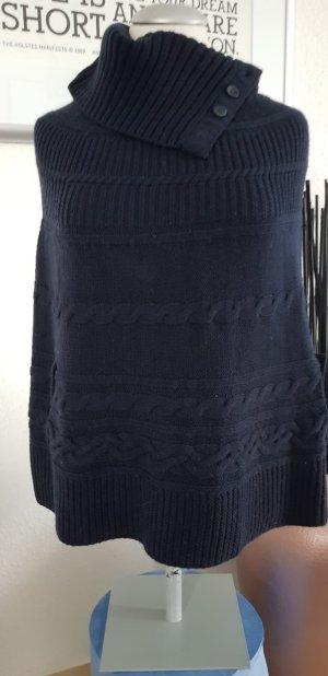 Tommy Hilfiger Poncho azul oscuro
