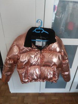 Tommy Hilfiger Denim Oversized Jacket bronze-colored