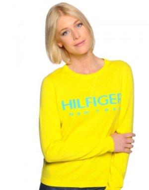 Tommy Hilfiger Jersey con capucha amarillo