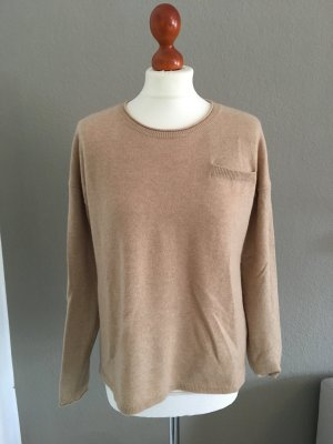 Tommy Hilfiger Pullover Cashmere Wolle nude beige S
