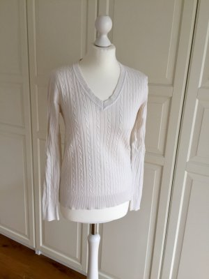 Tommy Hilfiger V-Neck Sweater natural white