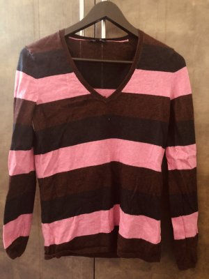 Tommy Hilfiger V-Neck Sweater pink-cognac-coloured