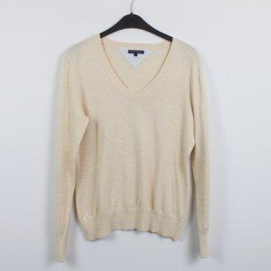 Tommy Hilfiger V-Neck Sweater oatmeal mixture fibre