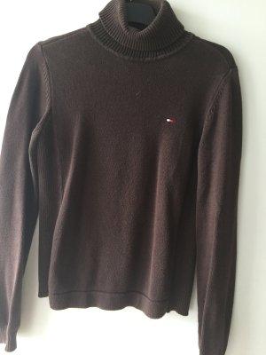 Tommy Hilfiger Pullover Gr M Farbe braun