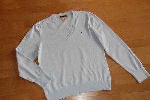 Tommy Hilfiger V-Neck Sweater pale blue mixture fibre