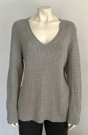 Tommy Hilfiger Cable Sweater grey mixture fibre