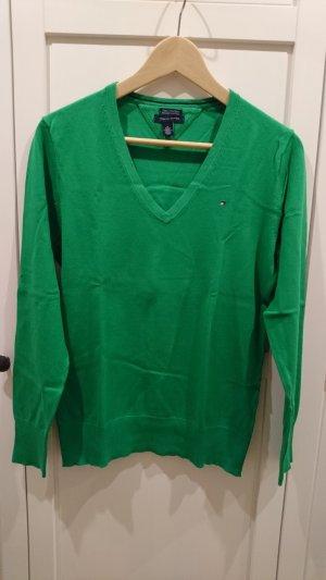 Tommy Hilfiger Pullover, grün, M, neu