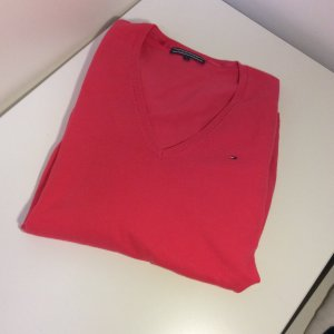 Tommy Hilfiger V-Neck Sweater magenta-pink