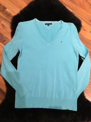 Tommy Hilfiger V-Neck Sweater light blue