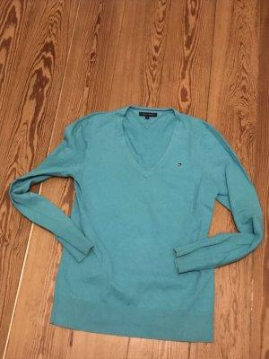 Tommy Hilfiger Pullover Mint Grün 38 40 M Selten getragen