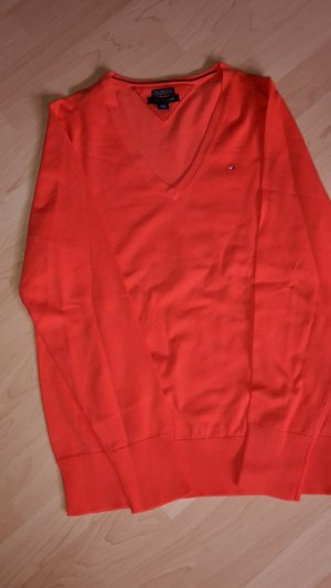 Tommy Hilfiger Pullover Neu Orange