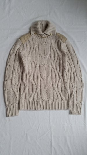 Tommy Hilfiger Cable Sweater cream wool