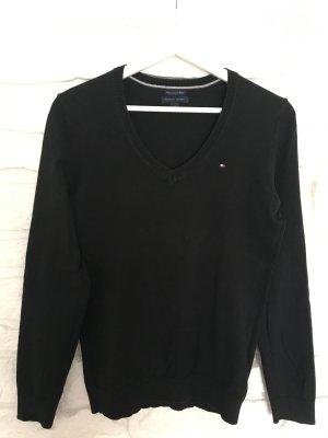 Tommy Hilfiger Pullover, schwarz, Gr.M