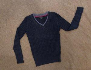 Tommy Hilfiger V-Neck Sweater steel blue