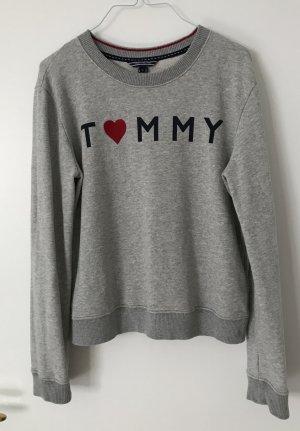 Tommy Hilfiger Pullover Sweat XS S 34 36 grau