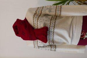 Tommy Hilfiger Pullover Sweater Pulli Gr L 40 42 NEU Pulli weiß