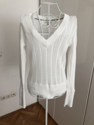 Tommy Hilfiger Pullover all'uncinetto bianco
