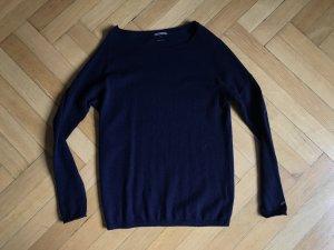 Tommy Hilfiger Pullover Wolle Kaschmir S 36 dunkelblau
