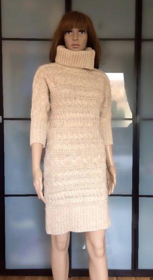 Hilfiger Denim Vestido de lana crema