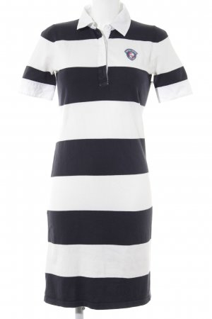 Tommy Hilfiger Sweater Dress white-dark blue striped pattern casual look